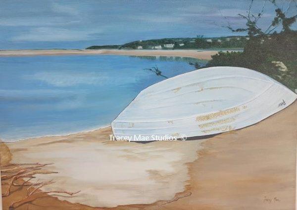 A Boat called Peter - Original artwork
