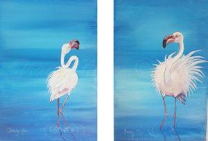 Dancing Flamingos 1&2