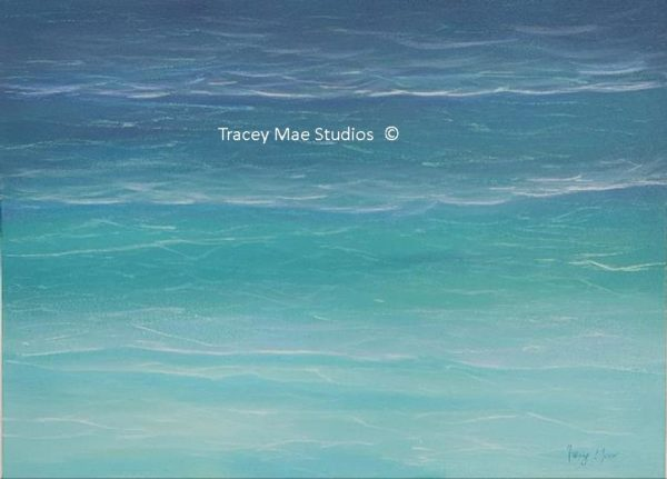 Oceana - a seascape by artist Tracey Mae
