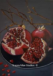 Pomegranate Haiku
