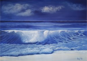 Delft Seas - seascape by Tracey Mae