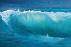 Michelenes Wave by Artist Tracey Mae